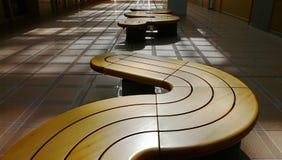 benches modernt arkivbilder