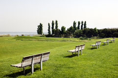 Free Benches Near Tagus River Royalty Free Stock Photo - 3528335