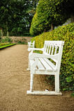 Benches in the park Stock Image