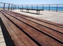 Benches on Sea Stock Photos