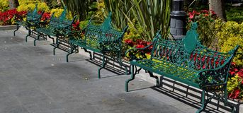 Benches to sit Royalty Free Stock Photo