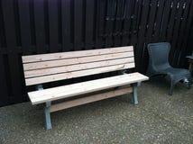 benches trä Fotografering för Bildbyråer