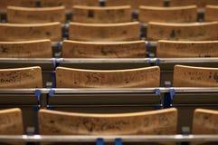 benches ugent Royaltyfria Bilder