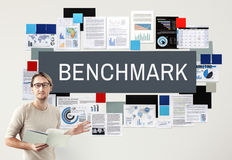 Benchmark Development Improvement Efficiency Concept Stock Photos