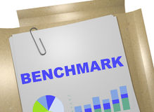 Benchmark - performance concept Stock Photography