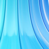 Bend blue stripes abstract background Stock Image