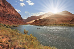 Bend of the Colorado River Stock Photography