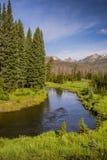 Bend in the Colorado River Stock Photo