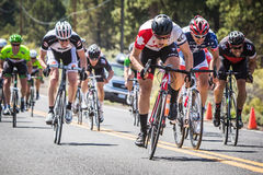 Bend Don't Brake Road Race Stock Photo