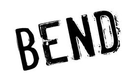 Bend rubber stamp Stock Images