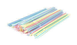 Bendable straws Royalty Free Stock Photography