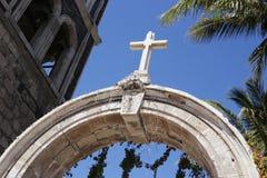 Bendecido, iglesia en Loreto, México Imagen de archivo