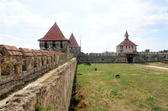 Bender, Transnistria: Bendery Fortress Cetatea Tighina in Transnistria. A self governing territory not recognised by United Nations Royalty Free Stock Image