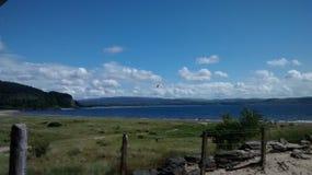 Benderloch. At Tralee Bay Holiday Park Royalty Free Stock Photo