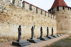 Bendery Fortress in Transnistria. A self governing territory not recognised by United Nations Stock Photo