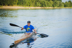 Bendery,Pridnestrove, June 18-19,2015 competition of rowing. Stock Image