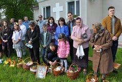 Bendición de Pascua baskets_9 Imagen de archivo