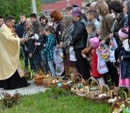 Bendición de Pascua baskets_15 Imagen de archivo libre de regalías