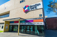 Bendigo Institute of TAFE vocational college Royalty Free Stock Images