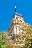 Bendigo Town Hall with clock tower in Australia Stock Image