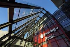 Bendigoen och Adelaide Bank Royaltyfri Foto