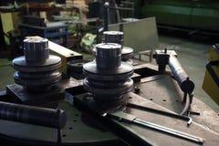 Bending curve machine Stock Photography