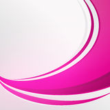 Bending Full pink color abstract on white background Stock Photos