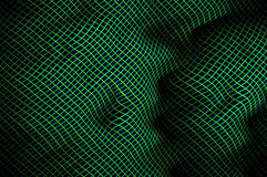 Bending highlighted mesh pattern C. Stock Photo
