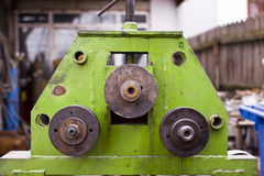 Bending machine Royalty Free Stock Images