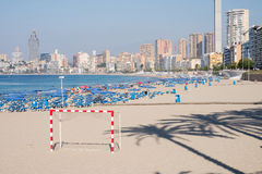 Bendirom beach Royalty Free Stock Image