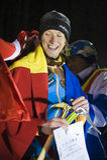 Bendler Markus (Áustria) o vencedor Imagens de Stock Royalty Free