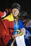 Bendler Markus (Austria) il vincitore Immagini Stock Libere da Diritti
