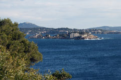 Bendor island in french riviera Royalty Free Stock Images