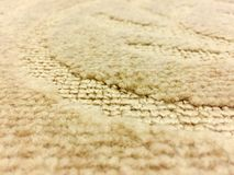 Bends in Patterned Carpet Royalty Free Stock Photography