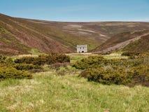 Bene della miniera di Lecht, altopiani scozzesi fotografie stock libere da diritti