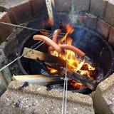 Bene, hot dog! Immagine Stock Libera da Diritti