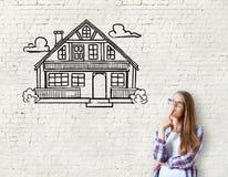 Bene immobile, ipoteca ed alloggio Immagine Stock Libera da Diritti