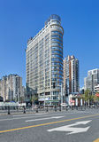 Bene immobile nel centro urbano di Shanghai, Cina Fotografia Stock