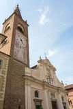 Bene Vagienna (Piedmont, Italy) Stock Image