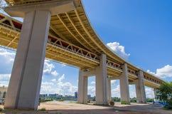 Beneath the bridge Stock Photography