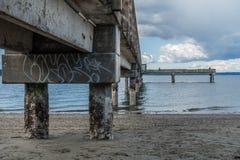 Beneath Dash Point Pier 3 Stock Photo