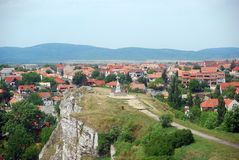 Benedek Hill, Veszprem, Hungary. Veszprem is the queen's city in Hungary. Its medieval old city is a gem in Central Europe Royalty Free Stock Photography