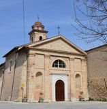 Benedettine Monastero Di S antoninus royaltyfri foto