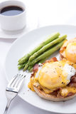 benedict ägg fotografering för bildbyråer