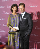 Benedict Cumberbatch & Sophie Hunter Royalty Free Stock Photos