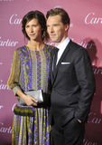 Benedict Cumberbatch & Sophie Hunter Royalty Free Stock Photography