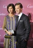 Benedict Cumberbatch & Sophie Hunter Royalty Free Stock Photography