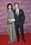 Benedict Cumberbatch & Sophie Hunter Royalty Free Stock Photos