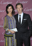 Benedict Cumberbatch & Sophie Hunter Stock Photo