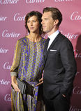Benedict Cumberbatch & Sophie Hunter Stock Photos